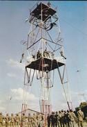 PARACHUTISME--La Tour D'entrainement N° 5--photo P. DUJARDIN  PAU---voir 2 Scans - Parachutisme