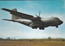 PARACHUTISME--atterrissage Transall-- N° 35--photo P. DUJARDIN  PAU---voir 2 Scans - Parachutisme