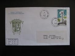 TAAF: TB Enveloppe, Affranchie Avec N°205 , Datée Du 01/01/1996 De Martin De Vivies - St Paul-Amsterdam . - Terres Australes Et Antarctiques Françaises (TAAF)