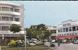 CENTRAFRICAINE--RARE---BANGUI--place De La République Et Avenue De L'indépendance--voir 2 Scans - Central African Republic