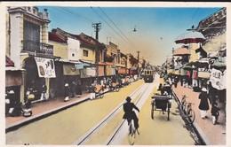 NORD VIETNAM--RARE---HANOI--un Quartier Annamite--voir 2 Scans - Viêt-Nam