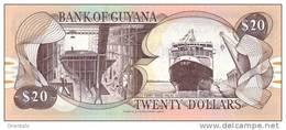 GUYANA P. 30b 20 D 2000 UNC (2 Billets) - Guyana