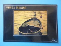 Punta Marina - Ravenna - Controluce - Tramonto Sul Mare Con Barca - Controluce