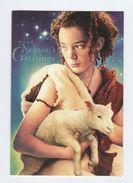 AUSTRALIA SPECIAL  CHRISTMAS COVER (card) Pmk CHRISTMAS HILLS  Lamb Sheep  Stamps Cover 1996 - 1990-99 Elizabeth II