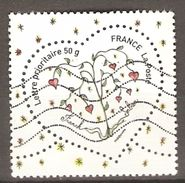 FRANCE     -    Nouveauté.   Coeur De Franck Sorbier.  Oblitéré - Used Stamps