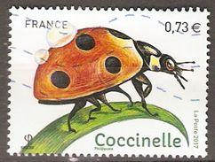FRANCE     -    2017.   Coccinelle.  Oblitéré - Used Stamps