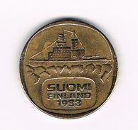 )  FINLAND  5 MARKKAA 1983 - Finlande