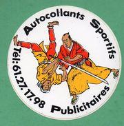 AUTOCOLLANTS SPORTIFS PUBLICITAIRES - ARTS MARTIAUX SPORT  /  AUTOCOLLANT - Autocollants