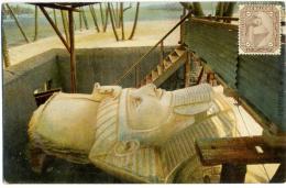 EGYPT  Postcard Menphis Ramses II - Egitto