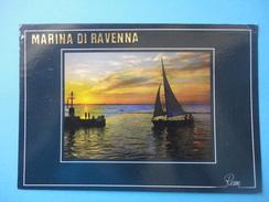 Marina Di Ravenna - Controluce - Mare Al Crepuscolo - Controluce