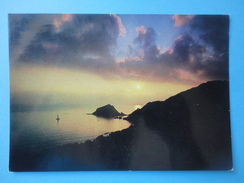 Isola Rossa - Monte Argentario - Grosseto - Controluce - Tramonto Sul Mare - Controluce