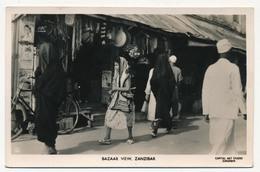 CPSM - ZANZIBAR - Bazaar View, Zanzibar - Tanzanie