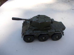 CORGI TOYS Saladin Armoured Car Made In Hong Kong - Tanks