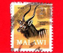 MALAWI - Usato - 1971 - Fauna - Antilope -  Nyala (Tragelaphus Angasi) - 2 - Malawi (1964-...)