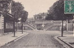 ARGENTEUIL  LA GARE  (dil322) - Argenteuil