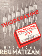THIODERAZINE-DRUG,MEDICINE 1930th - Publicités