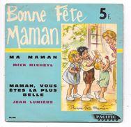 Disque Bonne Fête Maman, Illustré Par GERMAINE BOURET - Children