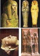 Ägypten - Egypt - 4 Cards - Cairo - Kairo - Ägyptisches Museum - Egyptian - Museen