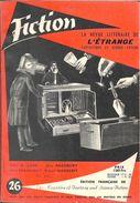 Fiction N° 26, Janvier 1956 (BE+) - Fiction