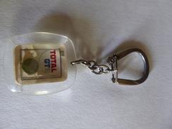 Porte-clés  - Burkina-Faso (Ex Haute-Volta) - Total GTS - Station Total D'Adama Coulibaly - Très Rare De 1969 - Essence - Sleutelhangers