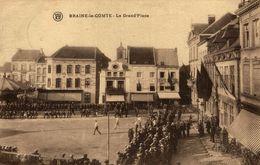 BRAINE LE COMTE LA GRAND PLACE - Braine-le-Comte