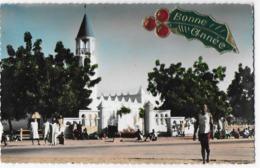 Cpsm Bon Etat , 9x14cm ,tchad,   N'djamena , Fort-lamy , La Mosquée  Courrier Au Verso - Chad
