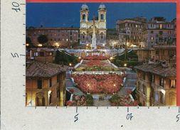 CARTOLINA NV ITALIA - ROMA - Trinità Dei Monti - 10 X 15 - Roma