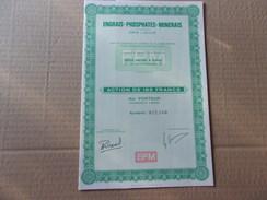 EPM Engrais-phosphates-minerais (dewisme & Bouilliant) - Aandelen
