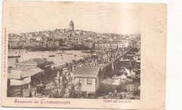 Souvenir De Constantinople Pont De Galata - Turchia