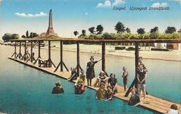 Szeged (Hongrie) - Ujszegedi Strandfürdö - Baigneurs - Carte Non Circulée - Hungary