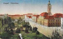 Szeged (Hongrie) - Varoshaza - Carte Non Circulée - Hungary