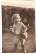 Girls With Mishka Mädchen Mit Teddybären Teddy Bear Ours En Peluche Fille Avec Ours En Peluche PHOTO CARD - Cartes Postales