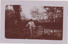 CARTE PHOTO,BELGIQUE,BELGIE, BELGIUM,ALLE SUR SEMOIS EN 1900,wallone,parc,écologique,propriétaire - Vresse-sur-Semois