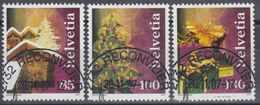 SUIZA 2007 Nº 1965/67 USADO - Usados