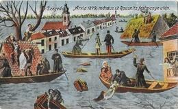 Szeged (Hongrie) - Arziz 1879, Maraus 12 Rausnitz Festmanye Utan - Hungary
