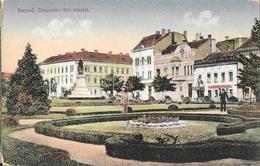 Szeged (Hongrie) - Dugonics-téri Részlet - Carte Non Circulée - Hungary