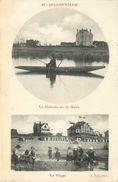 50 - JULLOUVILLE - MANCHE - LE CHATEAU DE LA MARE ET LA PLAGE - VOIR SCANS - Other Municipalities