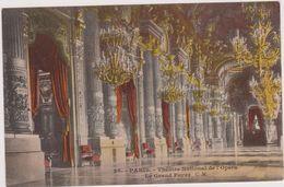 Carte Ancienne,75,PARIS EN 1918,THEATRE NATIONAL DE L 'OPERA,VUE INTERIEURE - France