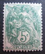LOT DF/416 - 1900 - TYPE BLANC - N°111a (IIB) - Cote : 77,00 € - France