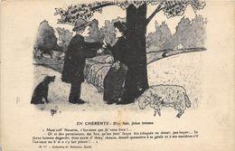 EN CHERENTE (PATOIS) D'IN FLAIR JHENE HOMME  ILLUST PAR BELLUTEAU - Illustrators & Photographers