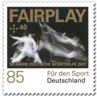 725  Escrime: Timbre D'Allemagne, 2017 -  Fencing Semipostal Stamp From Germany - Fencing