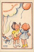 Aéronautique  Signé Dorette Muller Format 9/14 - Künstlerkarten