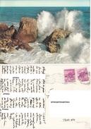 Italia Liguria Riviera Di Ponente Mareggiata - Cartoline