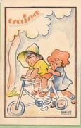 Cyclisme Signé Dorette Muller Format 9/14 - Künstlerkarten