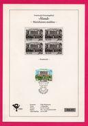 Encart - FDC - Aland - Mariehamns Stadhus - Svarttryck - FOLKE WICKSTRÖM - 1989 - N°639 - Aland