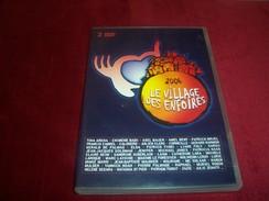 2006 LE VILLAGE DES ENFOIRES   DOUBLE DVD - Concert & Music
