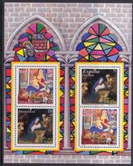 SPAIN 2001 JOINT ISSUE SPAIN - GERMANY CHRISTMAS NATALE NOEL NAVIDAD - Emisiones Comunes