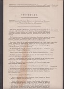 C1837 Seven Sheets Concerning Boundary Changes To Stockport, Cheshire.  Ref 0392 - Maps
