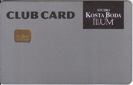 GREECE - Studio Kosta Boda Illum, Club Member Card, Used - Andere Sammlungen