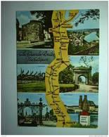 D 54 - Les Grandes Routes Touristiques De Nancy à Thionville, Sierck Les Bains, Hagondange, Metz, Pont à Mousson - Cartes Géographiques